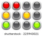 traffic light  signal ... | Shutterstock .eps vector #225943021