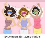 illustration featuring a group... | Shutterstock .eps vector #225944575