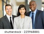 portrait of multicultural... | Shutterstock . vector #225968881