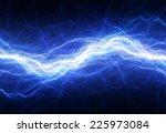 blue electric lightning  ... | Shutterstock . vector #225973084