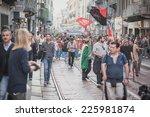 milan  italy   october 18  a... | Shutterstock . vector #225981874