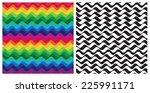 color waves   vector background ... | Shutterstock .eps vector #225991171
