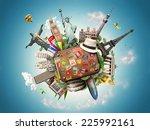travel  | Shutterstock . vector #225992161