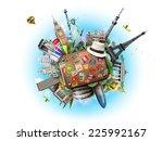 travel  | Shutterstock . vector #225992167