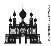 castle mosque vector | Shutterstock .eps vector #225996079