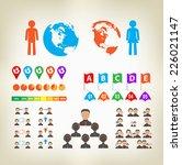 infographic design elements... | Shutterstock .eps vector #226021147