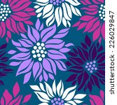 floral graphic seamless... | Shutterstock .eps vector #226029847