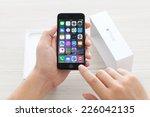 alushta  russia   october 23 ... | Shutterstock . vector #226042135