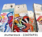 Stock photo berlin wall 226056931