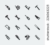 tools vector mini icons set