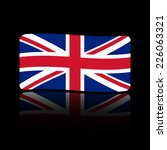 flag united kingdom. made in... | Shutterstock .eps vector #226063321