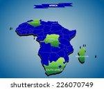 3 dimensional infographics... | Shutterstock .eps vector #226070749