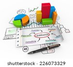 learning and development as a... | Shutterstock . vector #226073329