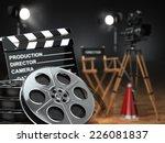 video  movie  cinema concept.... | Shutterstock . vector #226081837