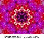 beautiful sparkling mandala | Shutterstock . vector #226088347