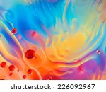 Abstract Colorful Backdrop Wit...