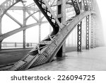 black and white photo of a... | Shutterstock . vector #226094725