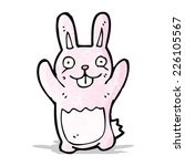 funny cartoon rabbit | Shutterstock .eps vector #226105567