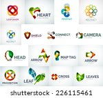 abstract company logo vector... | Shutterstock .eps vector #226115461