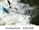 2006 Reno Kayak Races - stock photo