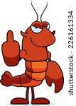 a cartoon illustration of a... | Shutterstock .eps vector #226161334