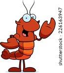 a cartoon illustration of a... | Shutterstock .eps vector #226163947