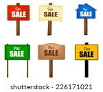 collection of different shaped...   Shutterstock .eps vector #226171021