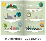shale gas graphic | Shutterstock .eps vector #226182499