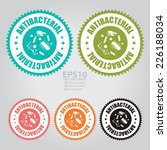 vector   colorful antibacterial ... | Shutterstock .eps vector #226188034