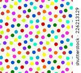 seamless pattern   christmas... | Shutterstock . vector #226213129