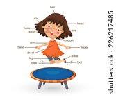 illustration of vocabulary part ...   Shutterstock .eps vector #226217485