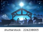 traditional christian christmas ... | Shutterstock .eps vector #226238005