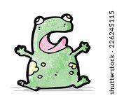 cartoon frog | Shutterstock .eps vector #226245115