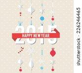 2015 label badge vector... | Shutterstock .eps vector #226246465