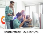 creative business colleagues... | Shutterstock . vector #226254091