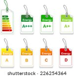 tag with class energy... | Shutterstock .eps vector #226254364