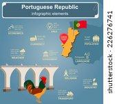 portugal  infographics ... | Shutterstock .eps vector #226276741