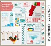 portugal  infographics ...   Shutterstock .eps vector #226276744
