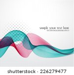 abstract background with color... | Shutterstock .eps vector #226279477