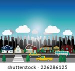it is an illustration of the... | Shutterstock .eps vector #226286125