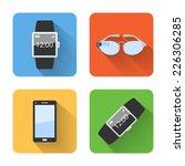flat smart wearable device...