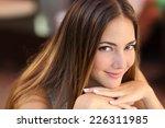 portrait of a confident woman... | Shutterstock . vector #226311985
