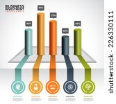 business chart and graph... | Shutterstock .eps vector #226330111