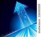 growth upward arrow sign... | Shutterstock . vector #226332205