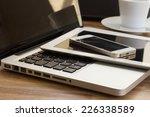 modern computer gadgets   ... | Shutterstock . vector #226338589