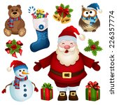 vector collection of christmas... | Shutterstock .eps vector #226357774