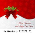 christmas abstract card.