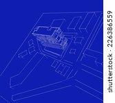architecture building  | Shutterstock . vector #226386559