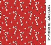 christmas seamless pattern. red ... | Shutterstock .eps vector #226393381