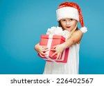 smiling funny child  kid  girl  ... | Shutterstock . vector #226402567